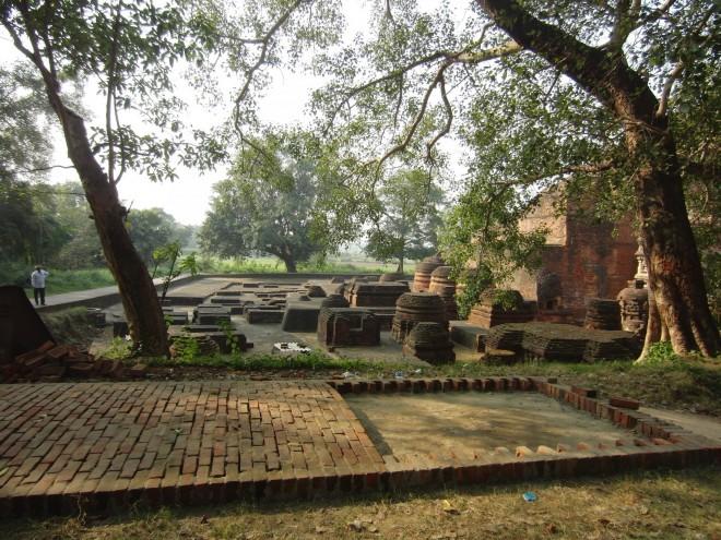Nalanda ruins today.