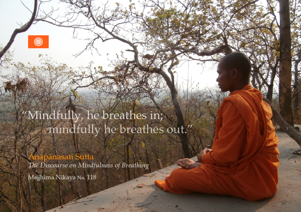 What is mindfulness of breathing meditation
