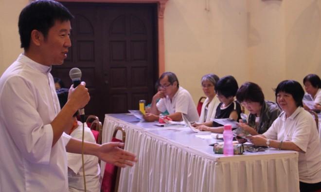 Bro. Tan inspires BISDS staff members to be better volunteers and educators.