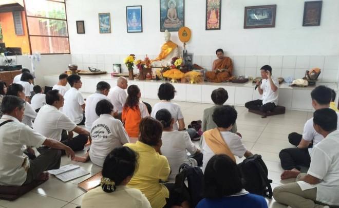 Talk at Sammaditthi Meditation Grove.
