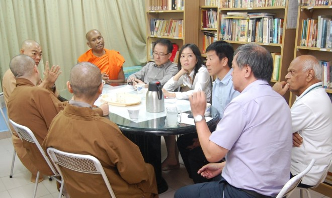 MBA and TBCM leaders in consultation.