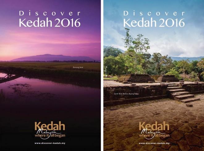 'Discover Kedah 2016' posters.