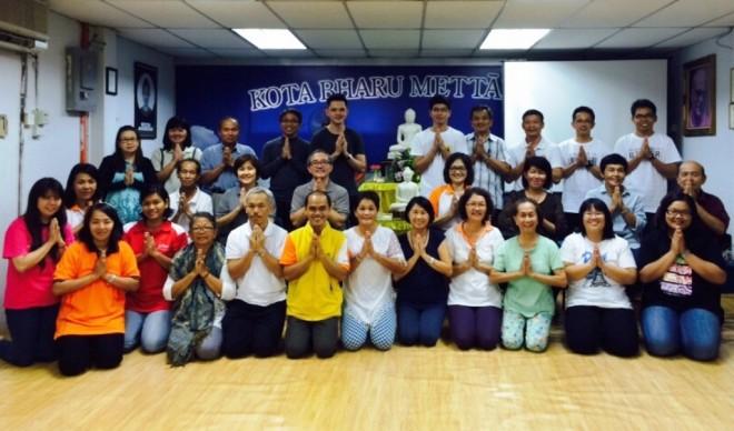Group photograph of the BPS303 course participants and Nalanda representatives.
