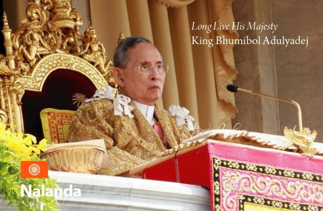 Felicitations to the people of Thailand on the occasion of His Majesty King Bhumibol's birthday