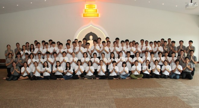 Group photograph of the learning camp organisers and participants. Sadhu!
