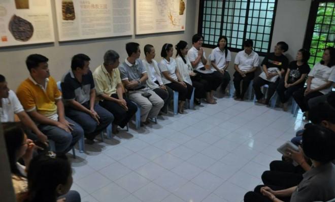 Dhamma School parents' 5-week induction programme.