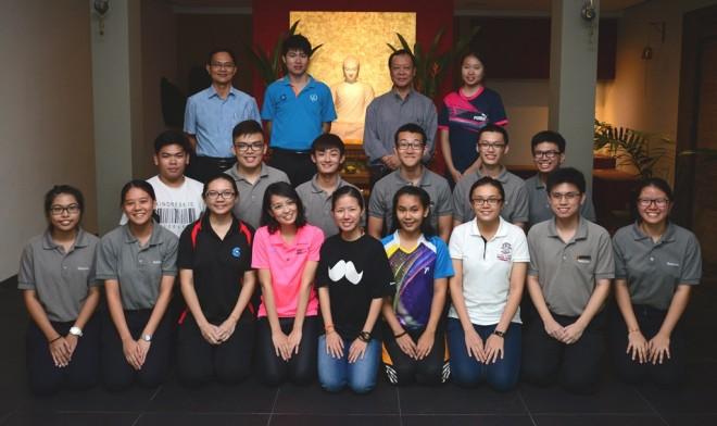 IPG Buddhist Society members and Nalandians.