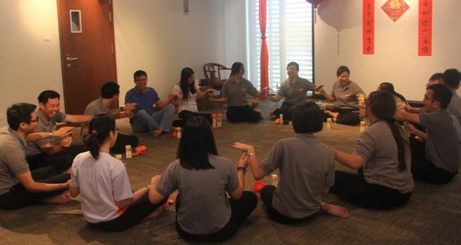 Fellowship strengthens the bonds  of friendship between the facilitators.