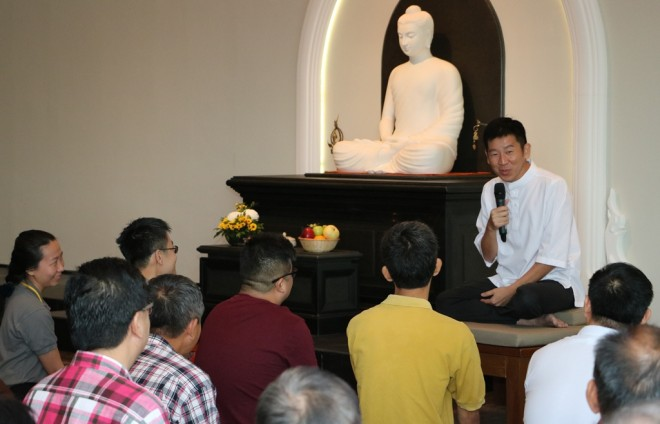 Bro. Tan urged the community to learn about ancient wisdom and wholesome values.