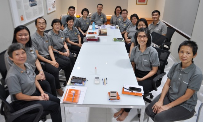 Senior Nalandian officers came for the 3rd AGM at the Johor Bahru Branch.