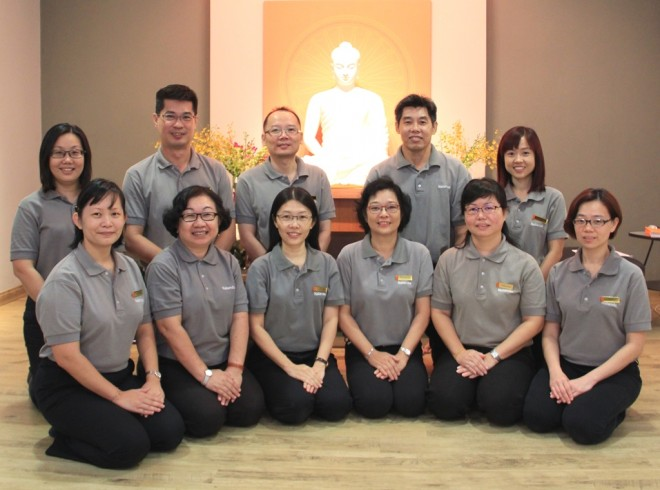 Nalanda Buddhist Society Kuala Lumpur Branch Management Committee 2016-2018.