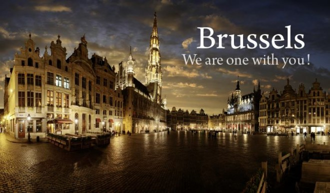 We stand with the citizens of Belgium and Brussels at this difficult moment.