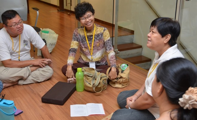 Group discussion allows participants to have a better understanding of the topic.