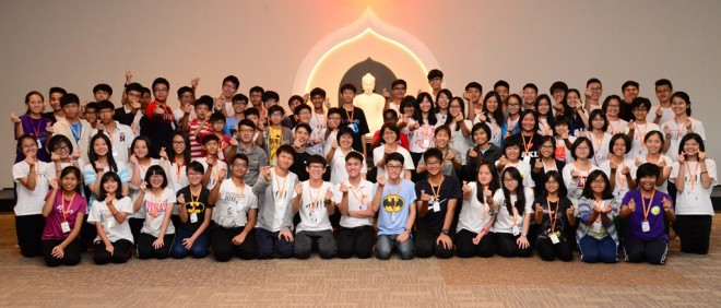 Teenaged participants had a memorable 'We Are Nalandians' Stay-in camp.