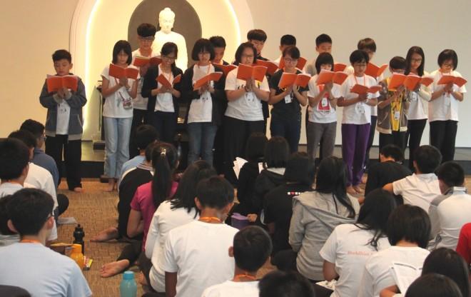 Group effort to enhance students' chanting skills