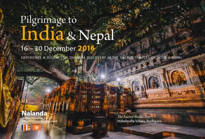 Pilgrimage to India & Nepal, 2016.