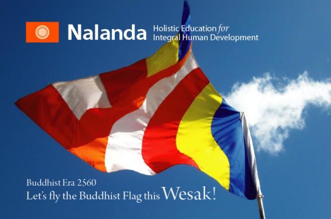 Fly the Buddhist Flag - 2016