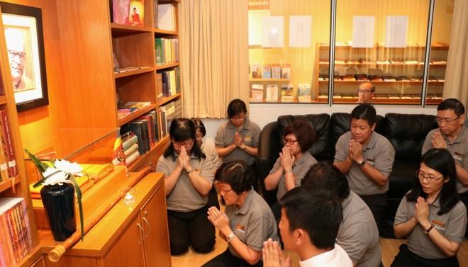 Remembering our Spiritual Adviser.
