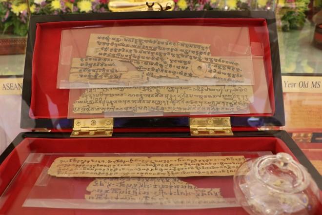 Fragments of the Schøyen collection of Bamiyan Gandhāri manuscripts.