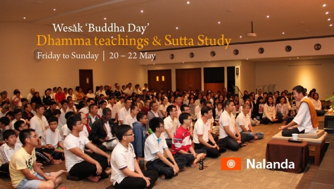 Wesak 'Buddha Day' Dhamma teachings in 2016.