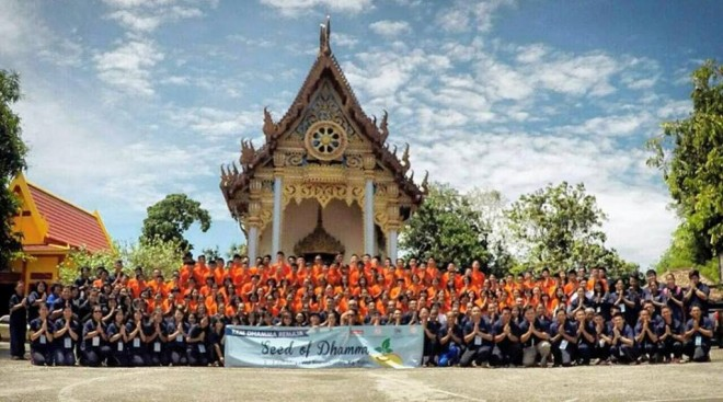 About 122 shared a wonderful  experience at a learning camp at Wat.