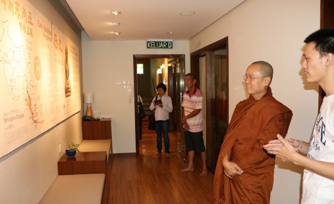 At the Langkasuka Gallery, Level 2 of Nalanda Centre.
