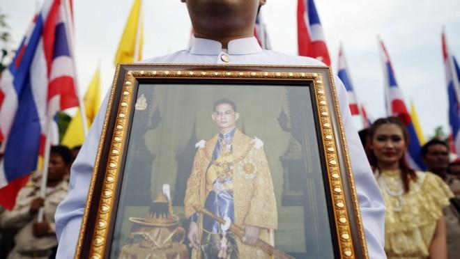 King Bhumibol of Thailand.