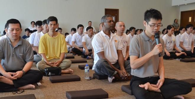 A short 'Metta' meditation session to start the Service Sunday.