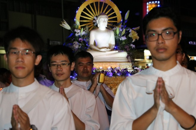 The Heritage Procession was one of the highlights of the Wesak Day celebration.