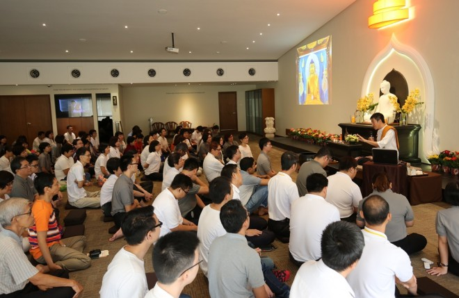 The 'Buddha Day' Dhamma talk is one of the three important teachings of the Wesak period.
