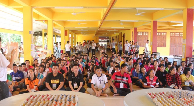 122 teenagers from various parts of Kelantan took part in the camp.