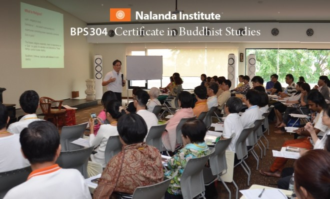 BPS304 Certificate in Buddhist Studies