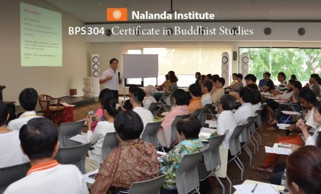 BPS304 Certificate in Buddhist Studies