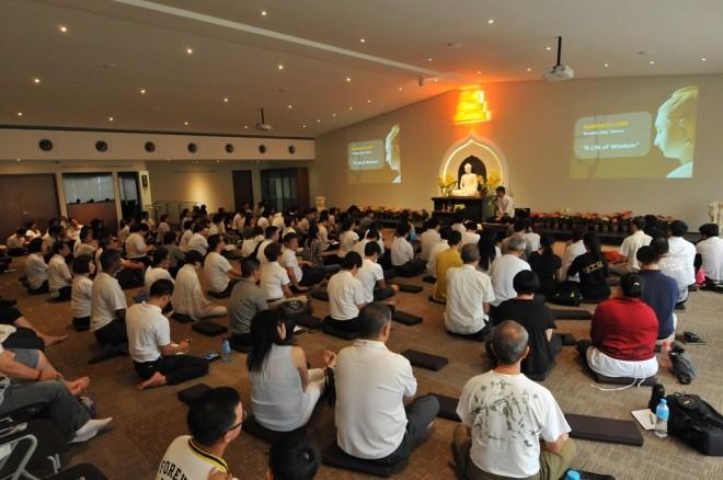 Sutta Study & Meditation Session on 'Buddha Day' at Nalanda Centre.