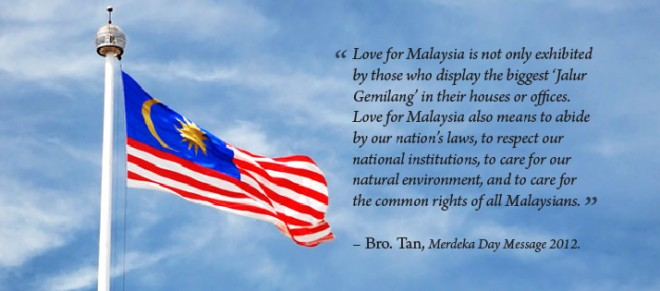 Love for Malaysia.