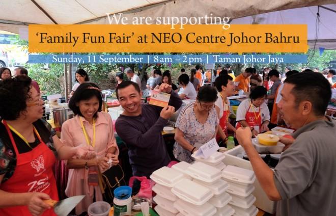 Nalandians support the 'Family Fun Fair' in J.B.
