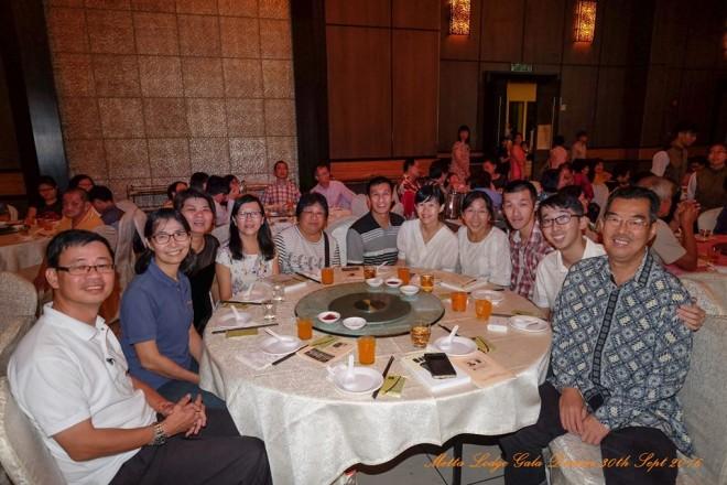 Nalanda team at Metta Lodge gala dinner.