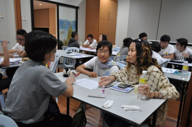 The discussion in groups help facilitators understand the themes better.