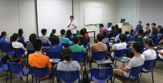 Bro. Tan spoke about the qualities of a true friend.