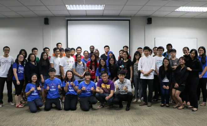 Bro. Tan was the guest speaker at Nottingham University Malaysia Buddhist Society recently.
