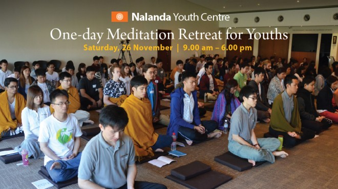 Meditation retreat for youths.