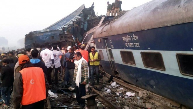 Another train tragedy in India.