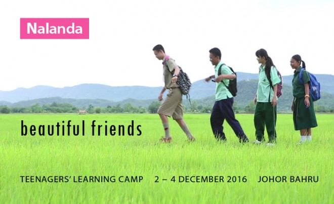 Teenagers' Camp in J.B. in December 2016.