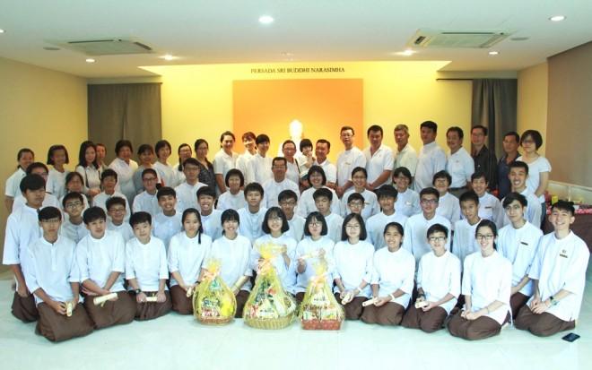 Dhamma School community in Johor Bahru.