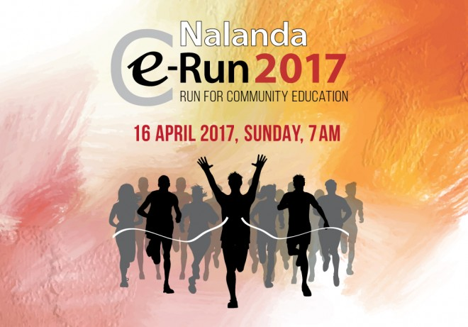 "Let us come together to ""run for community education""."