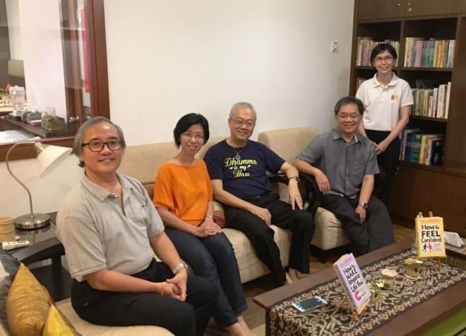 Meeting of Dhamma speakers.