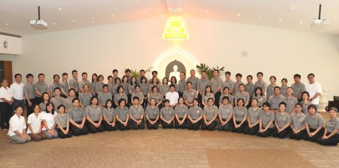 Nalanda members at the 14th Annual General Meeting.