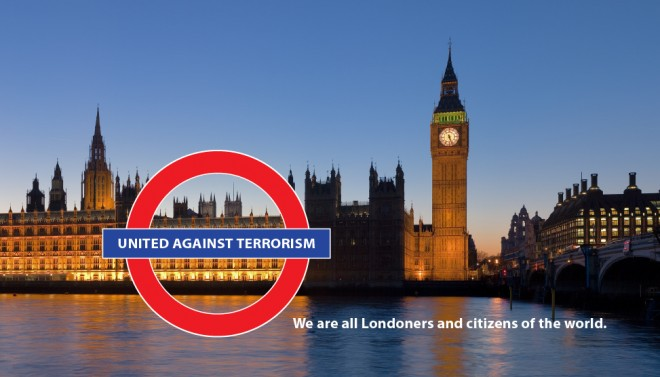 London attacked.