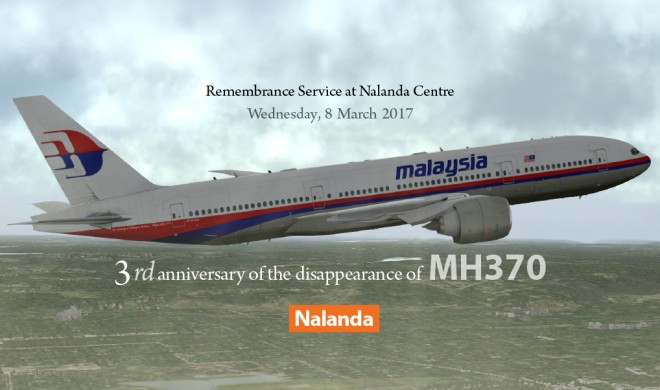 MH370 - 3rd Anniversary.