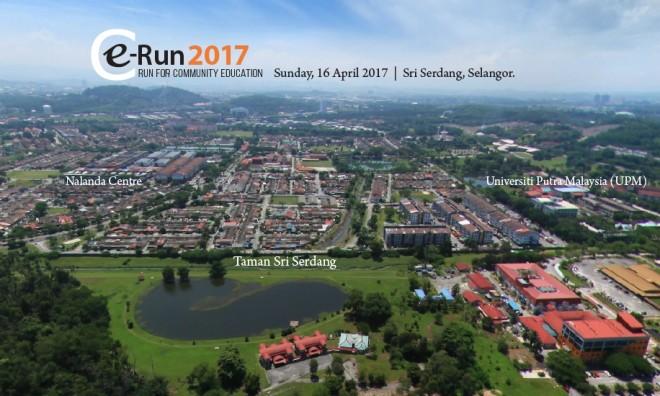 e-Run in Taman Sri Serdang.